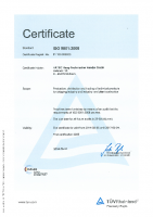 ISO 9001-2008 Englisch