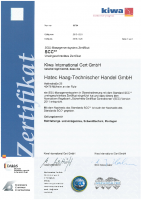 SSC** Zertifikat