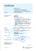 Zertifikat AD2000 HP0 EN 23.03.2017